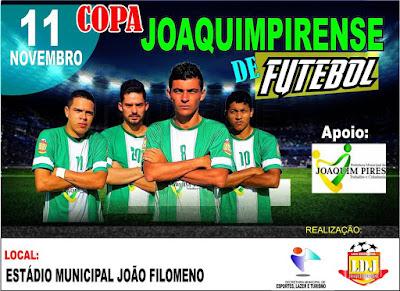 Prefeitura de Joaquim Pires promove Copa de Futebol em 2017