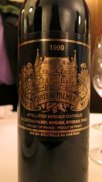 Wine Review of 1999 Château Palmer from AC Margaux, Bordeaux, France