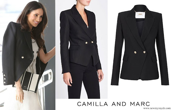 Meghan Markle wore Camilla And Marc Marguerite blazer