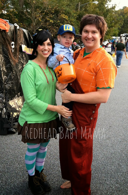 Wreck It Ralph Family Costumes