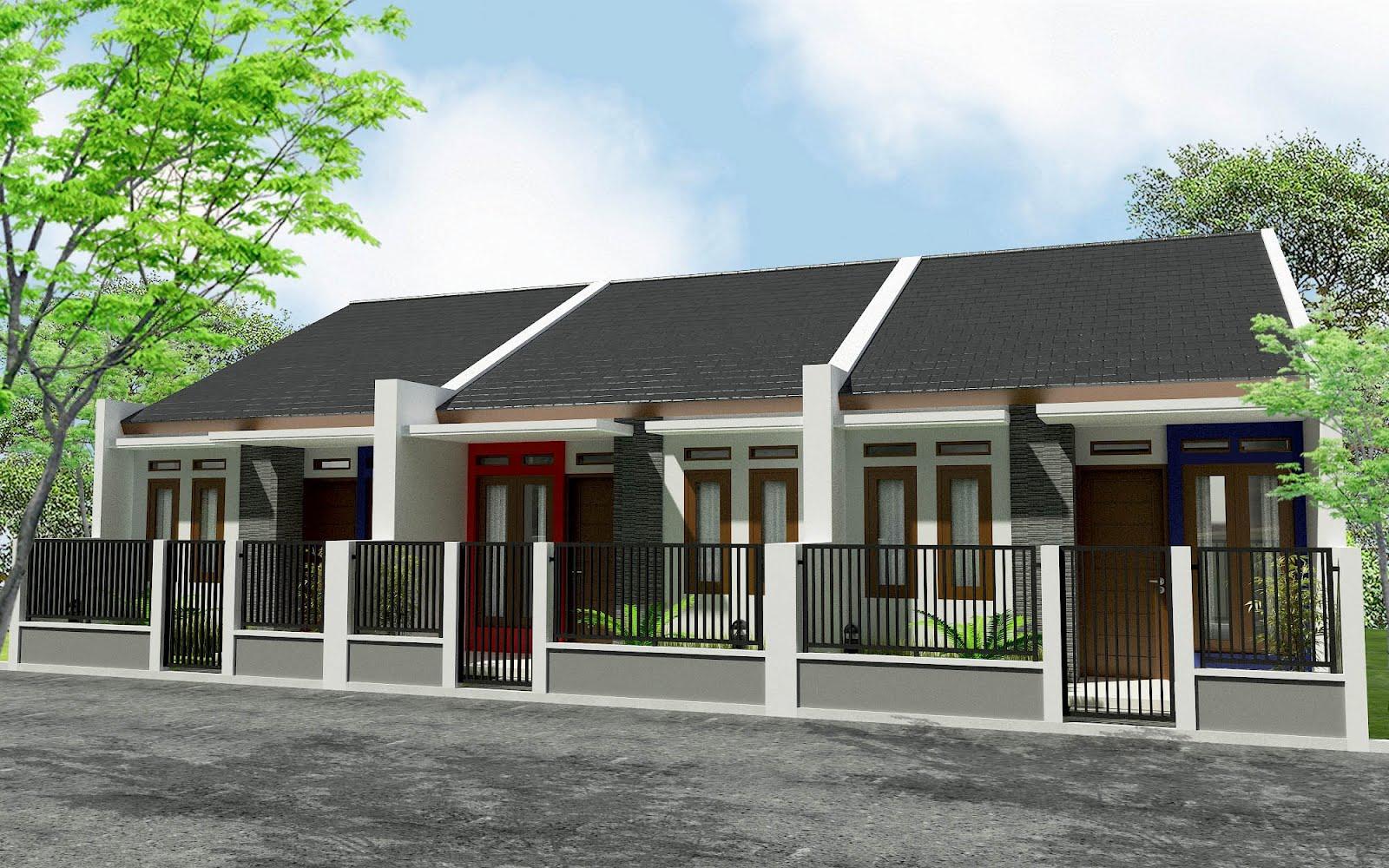 Desain Rumah 2016 Rumah Minimalis Cluster Images