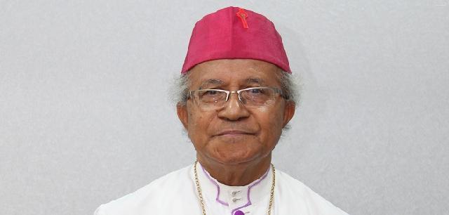 """Rest In Peace"" Uskup Seribu Pulau, Mgr Hilarius Moa Nurak SVD"