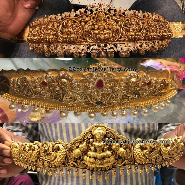 Nakshi Waistbelt Designs by Premraj Jewellers