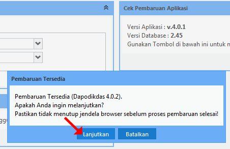 Cara Mudah Upgrade Aplikasi Dapodikdas Versi  Cara Mudah Upgrade Aplikasi Dapodikdas Versi 4.0.1 ke 4.0.2