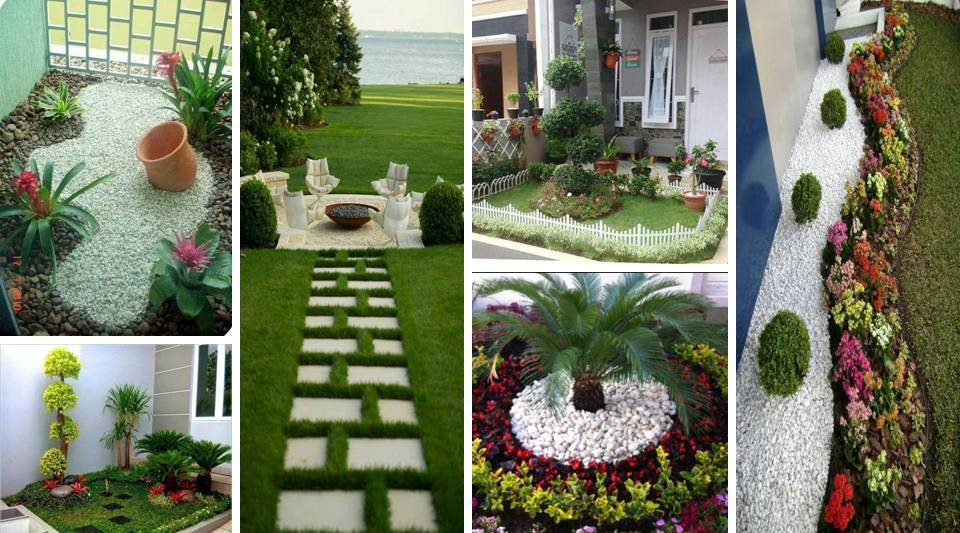 15 DIY Small Gardens You Can Implement at The Entrance of ...