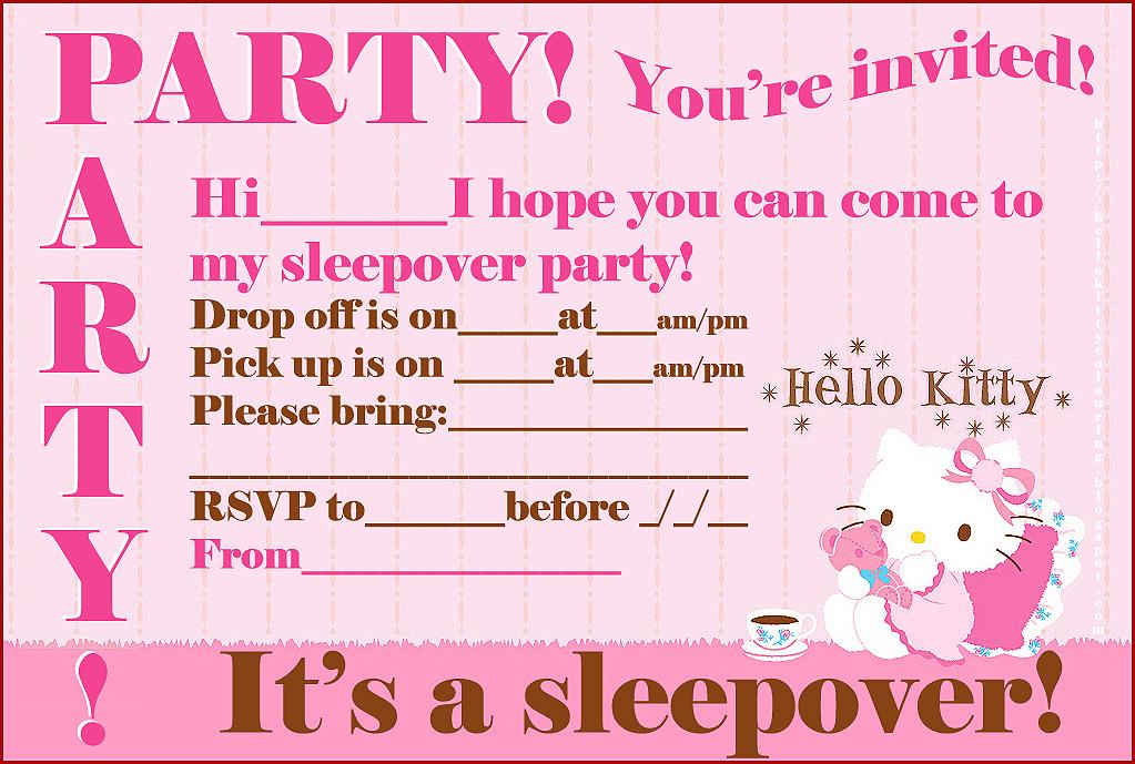 sleepover party invitations sleepover party invitations to inspire