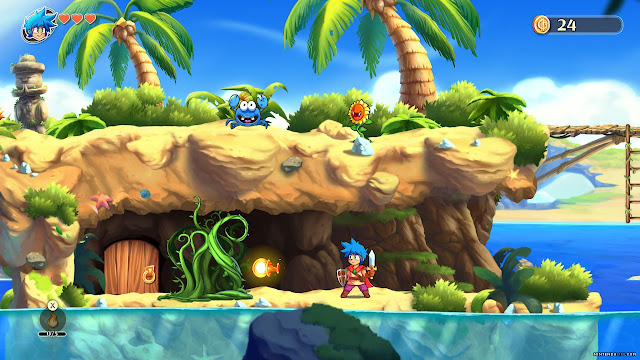 MONSTER BOY AND THE CURSED KINGDOM - ANÁLISIS