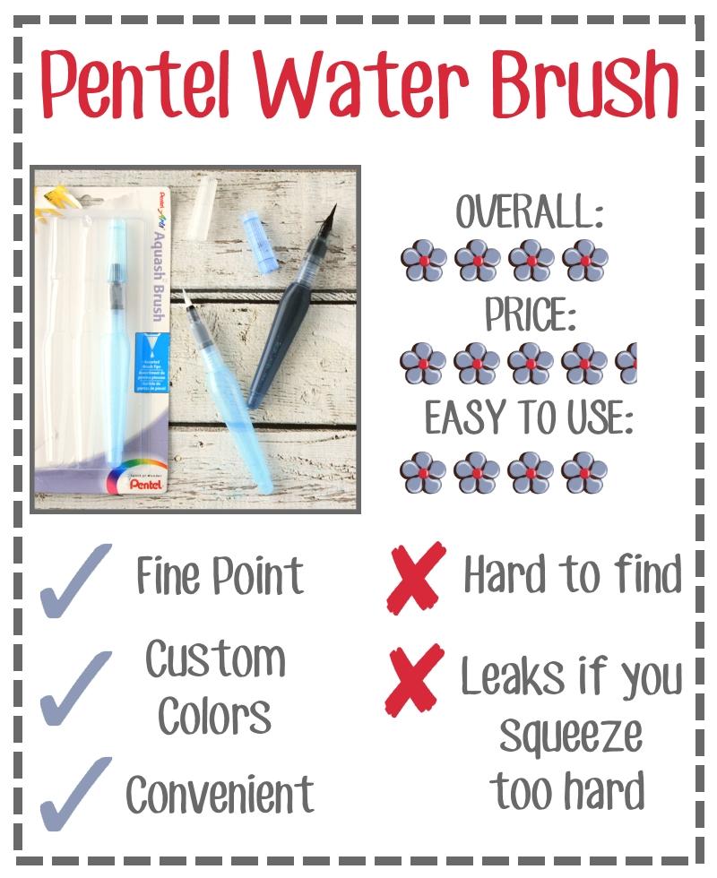 Fantastic Find Friday Pentel Water Brush