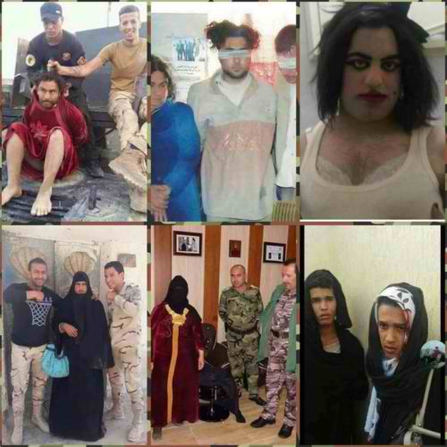 ISIS Terrorists Dressed Like Drag Queens To Escape War Zone In Mosul