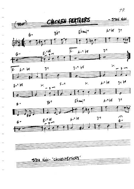 Partitura Flauta Steve Kuhn