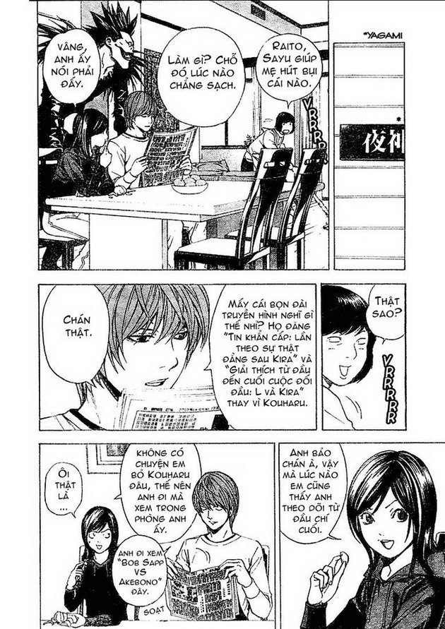 Death Note chapter 010 trang 5