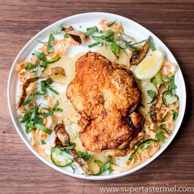 Crispy Skin Chicken Mercato Hong Kong