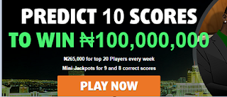 Bet9ja Super9ja : Bet For Free And Get A Chance To Win Jackpot Price Of 100,000,000