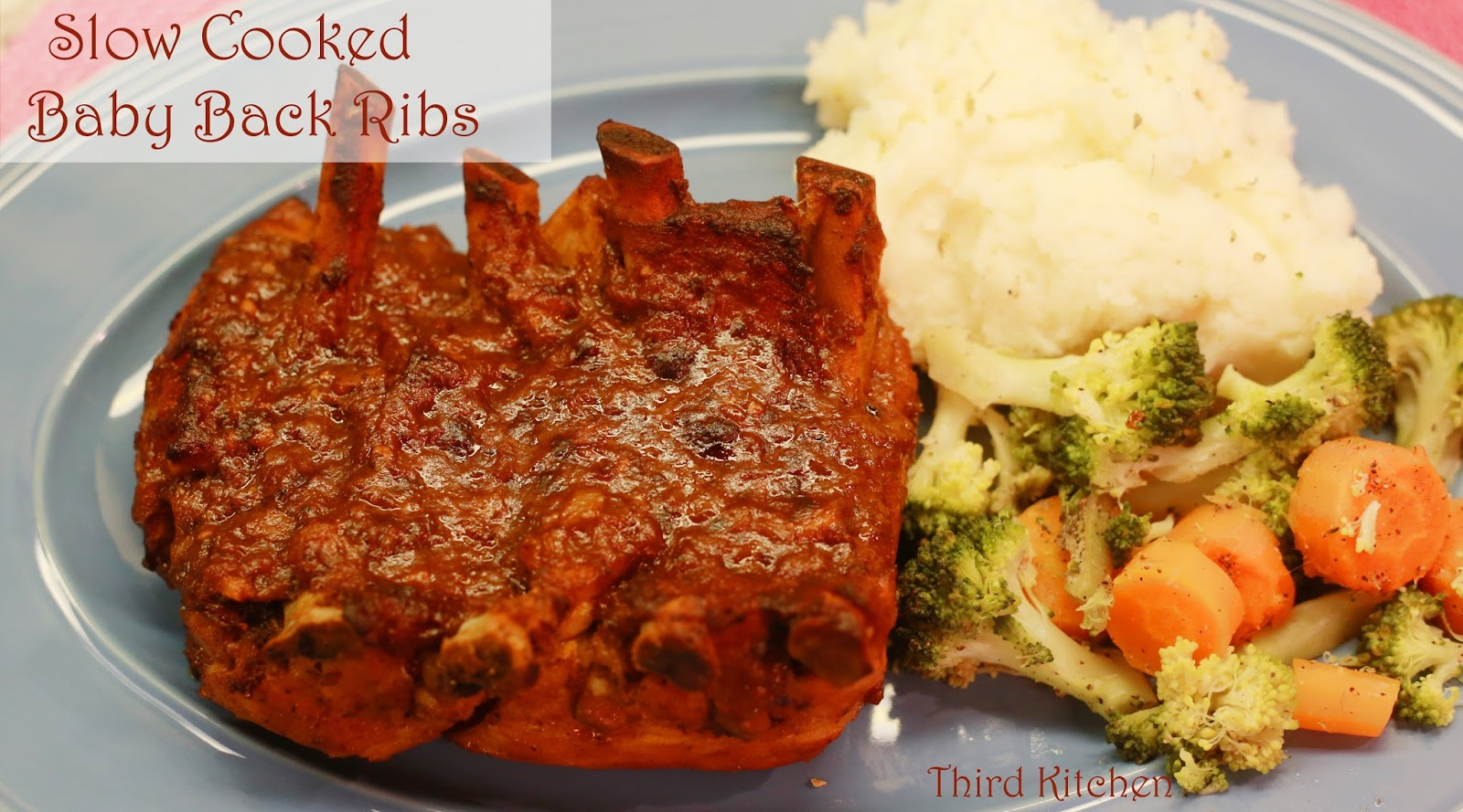 baby back ribs slow cooker third kitchen cooked baby back ribs 30911