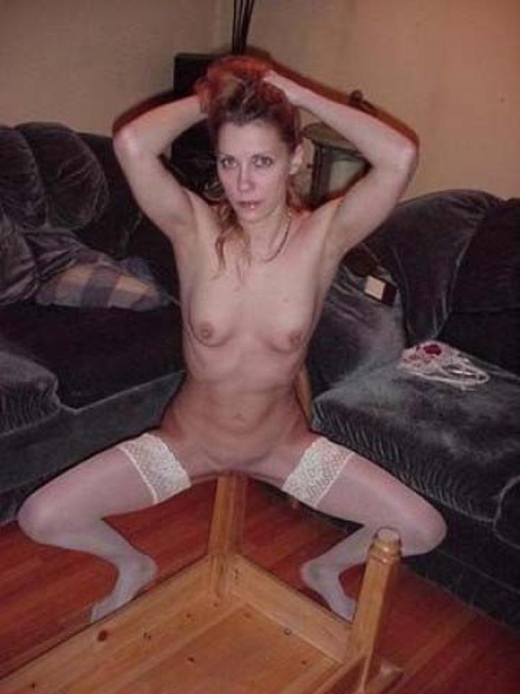 women humping a bed post