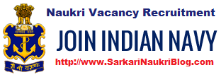 Sarkari-Naukri Vacancy Indian Navy