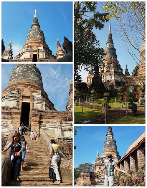 Estupa de Wat Yai Chai Mang Khon.