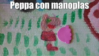 Peppa Pig con manoplas