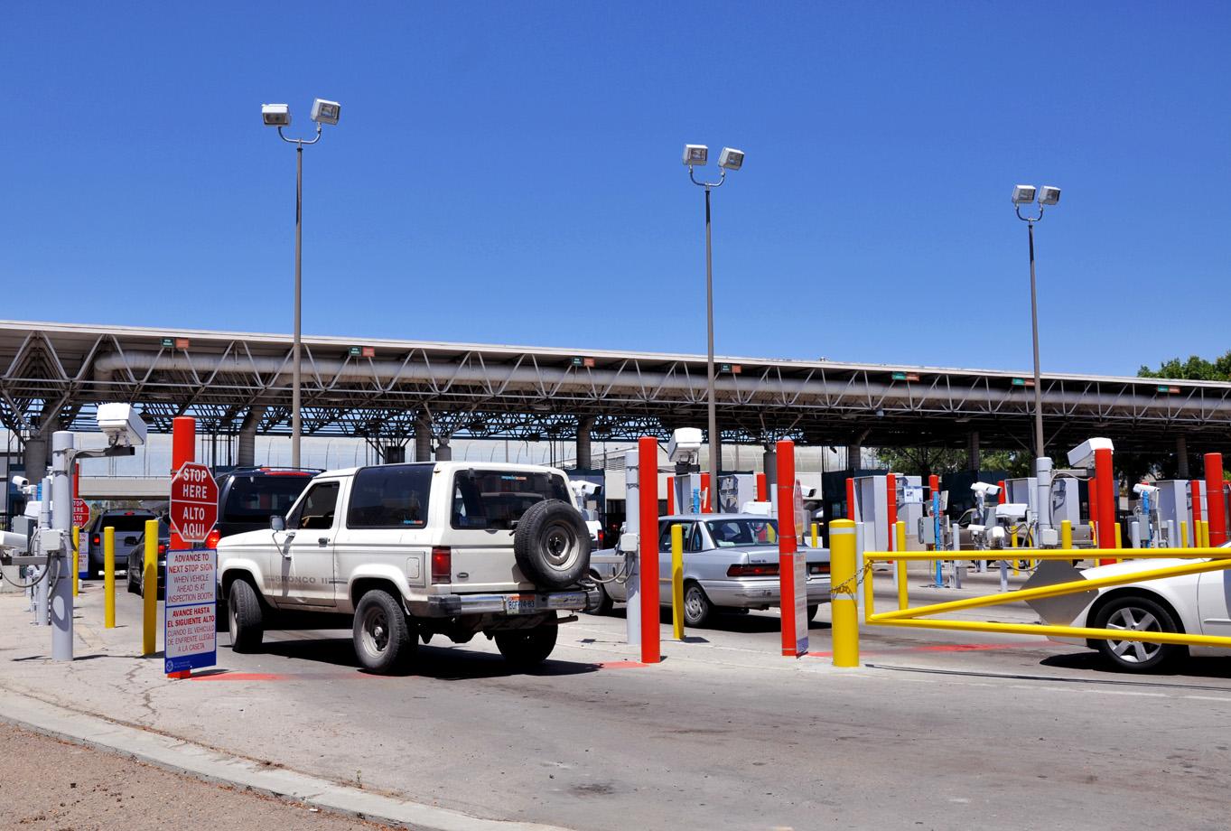 Resultado de imagen para obra para agilizar el tráfico en mesa de otay ha cia Estados Unidos