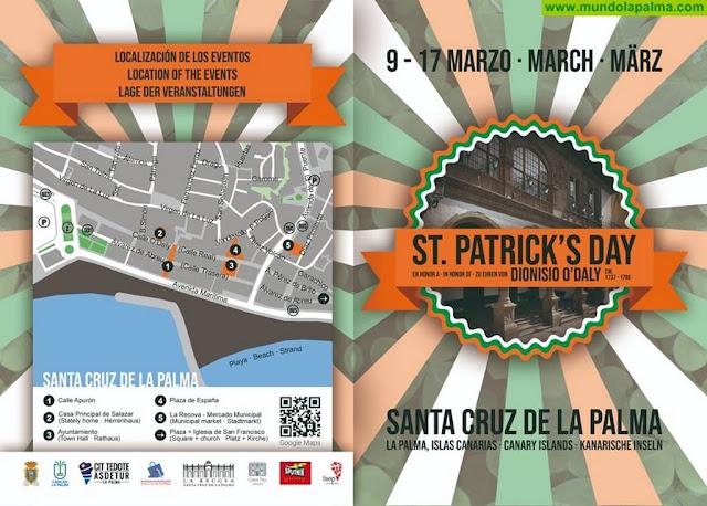 Actos de la celebración de San Patricio en Santa Cruz de La Palma