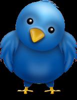 Cara buat burung twitter terbang di blog