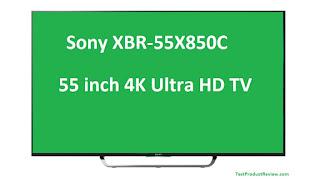 55 inch 4K Ultra HD TV