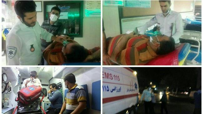 Chlorine gas leak affects 475 in southwestern Iranian province of Khuzestan