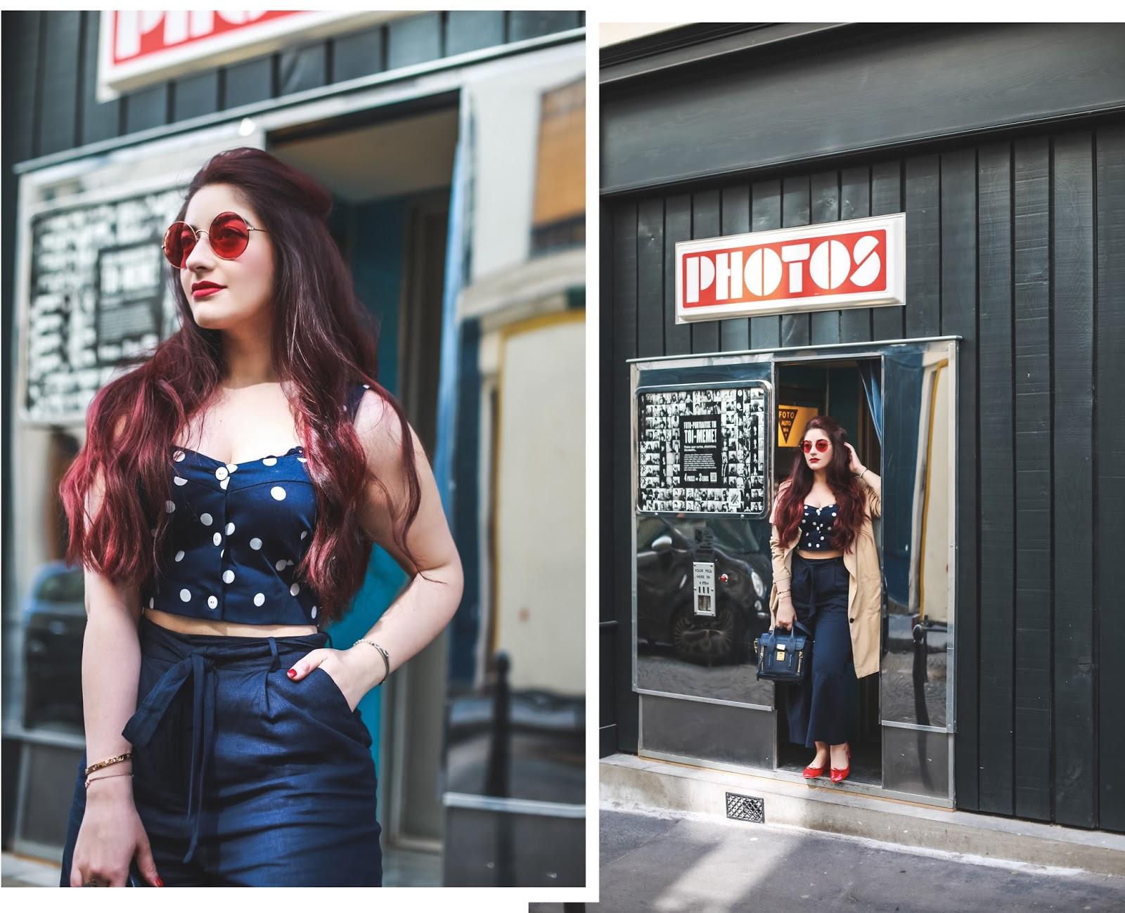 pantalon oversize taille haute blog mode