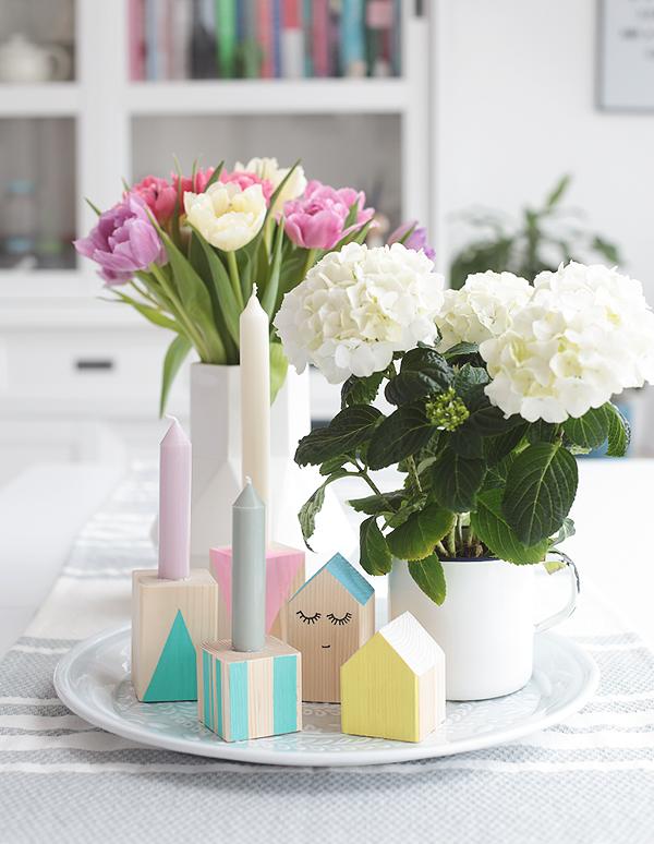 DIY: Kerzenständer aus Holz