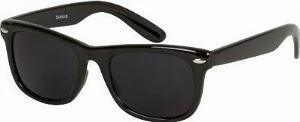 Super Dark Lens Wayfarer Sunglasses
