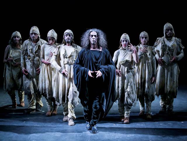 Imagen del espectáculo Marat-Sade