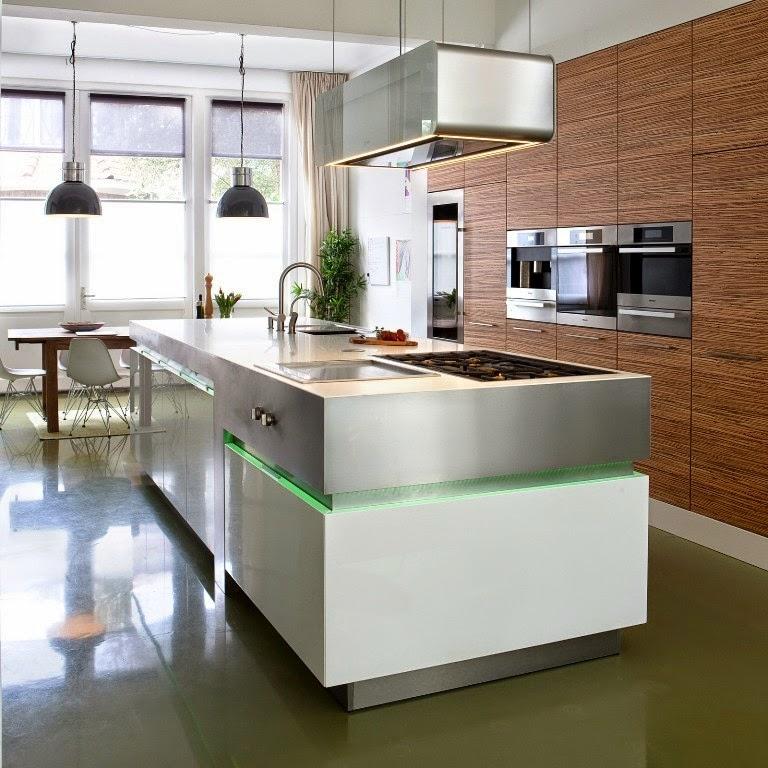 Elementos que distinguen a una cocina de alta gama for Cocinas integrales de alta gama