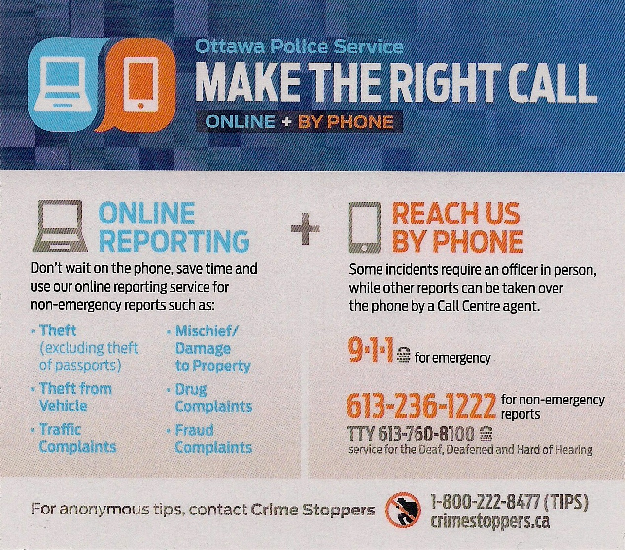 Report Emergencies