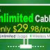 25M Unlimited Cable Internet West Coast Promotion only at $29.98/m.