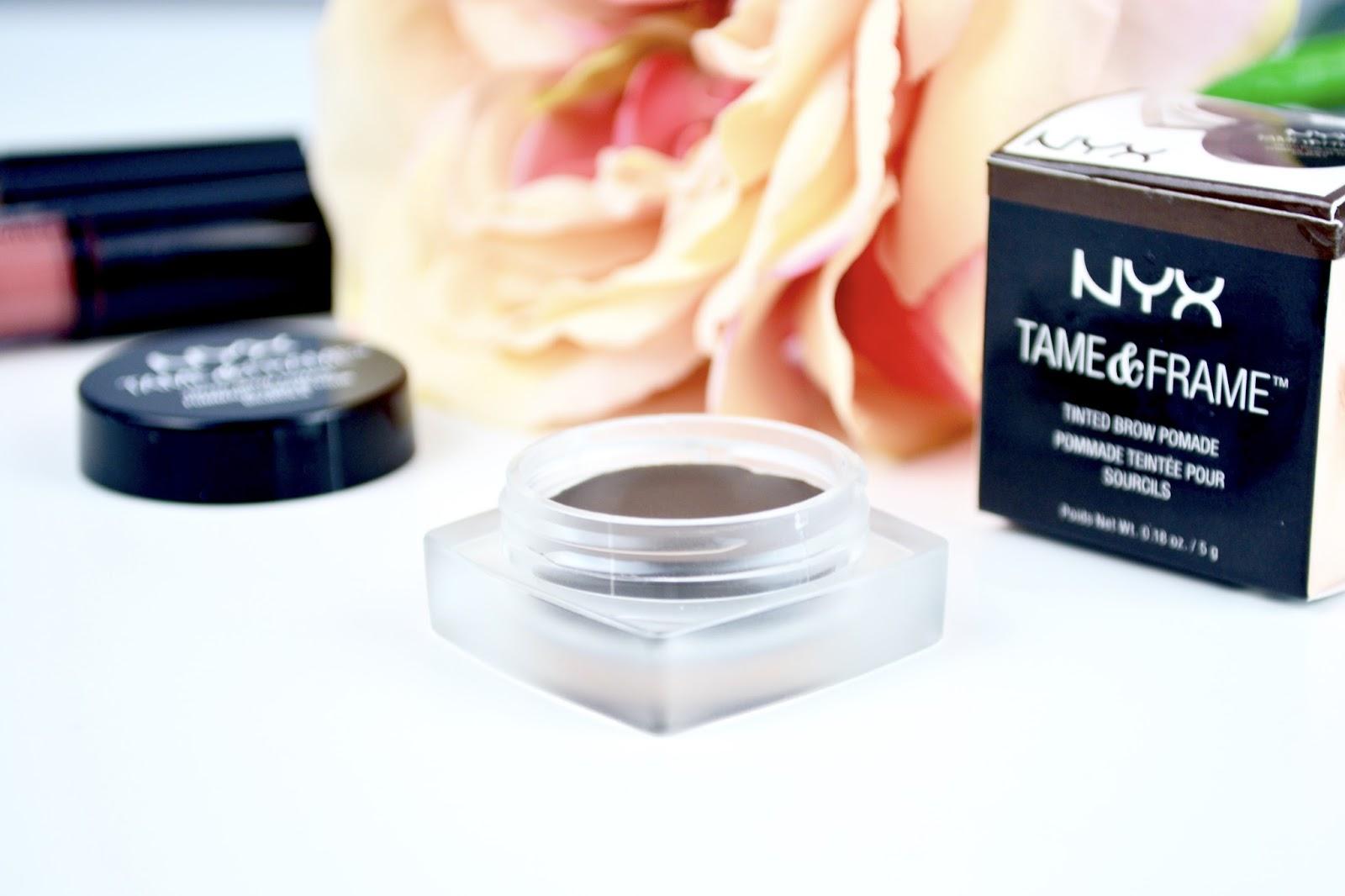 Brows, NYX, NYX Cosmetics, NYX Tame and Frame Brow Pomade, Brow Pomade, Eyebrows, Makeup