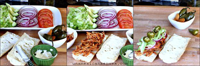 Aprende a preparar esta deliciosa torta de pierna by www.unamexicanaenusa.com