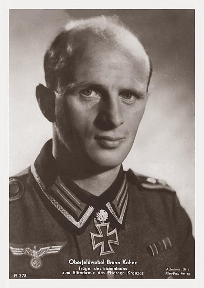 Bruno Kohnz Ritterkreuzträger Knight Cross Holder Postcard
