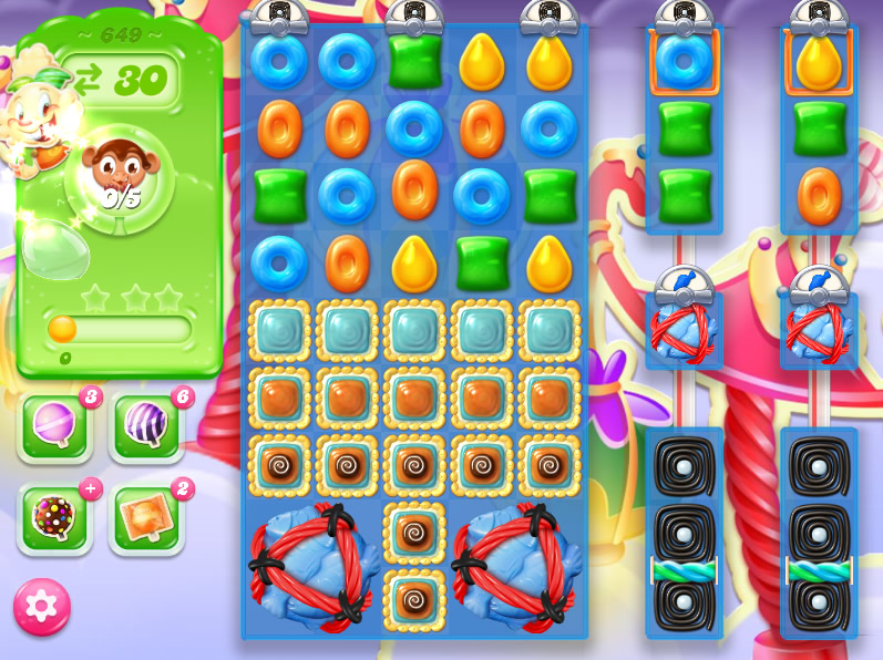 Candy Crush Jelly Saga level 649