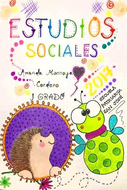 Carátula de estudios sociales
