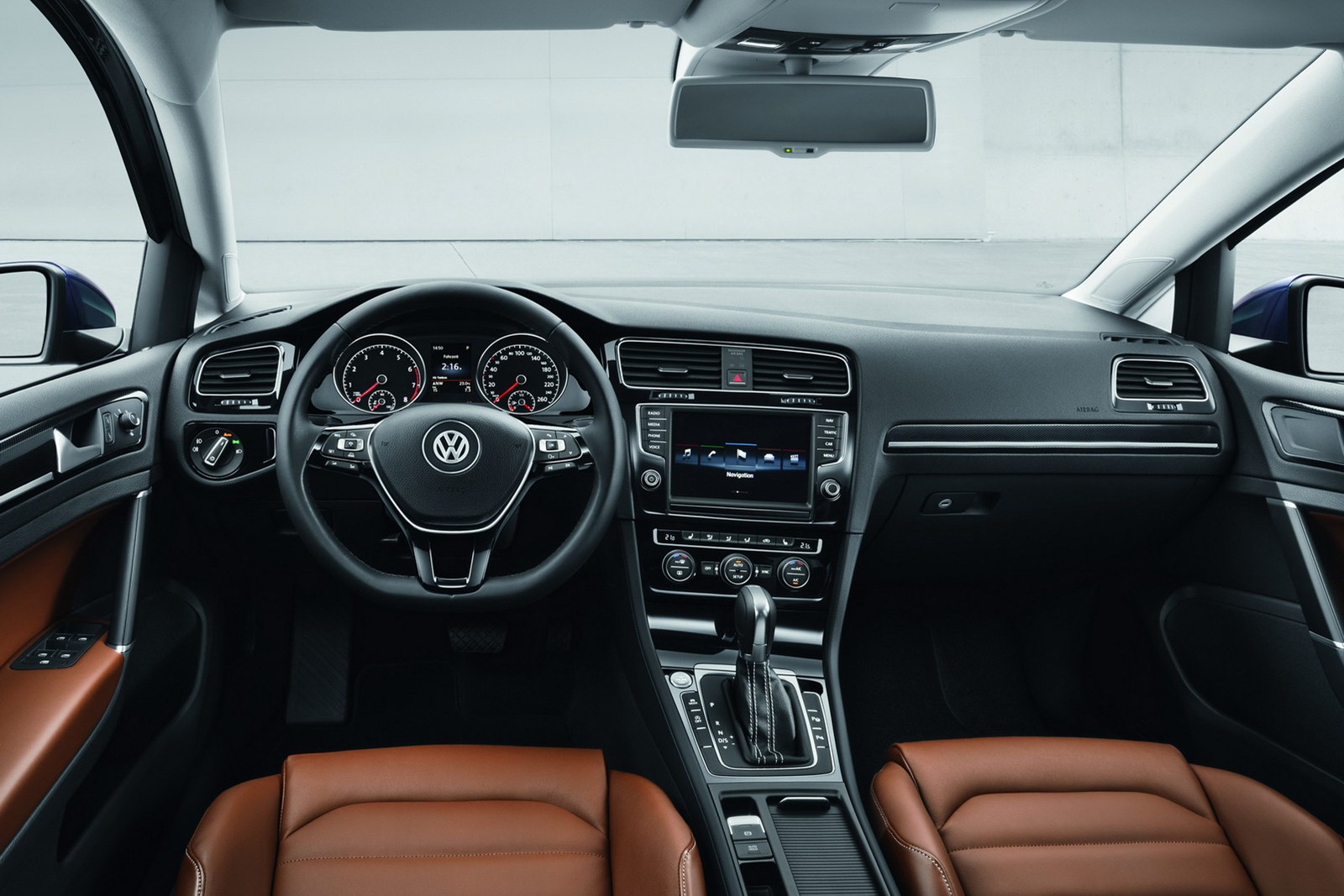 Vw Golf Interieur Car Design Scoop - Scoop Et Dernieres Infos Automobile