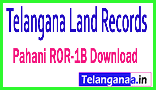 Telangana TS State Land Records Survey Number Khatha Number Corrections Online