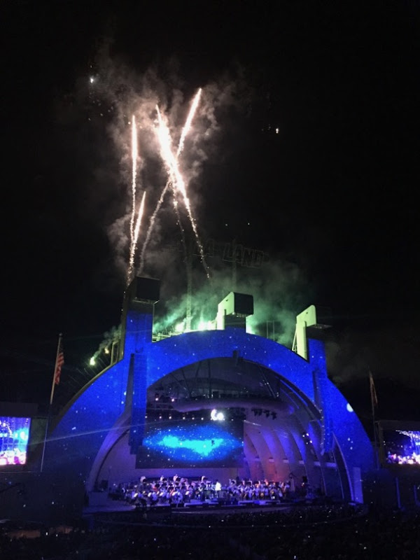 Hollywood Bowl La La Land concert