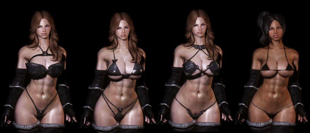 Wolf Bikini Armor [7B/CBBE/UNP/CBS] ~ Eskyrim