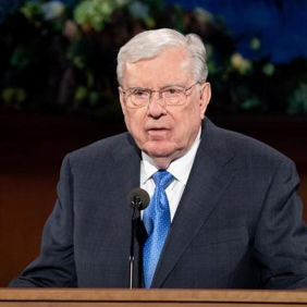 President M. Russell Ballard, Acting President of the Quorum of the Twelve Apostles, speaking in April 2020 General Conference