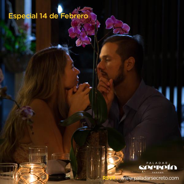 cena dia de los enamorados 14 de febrero panama