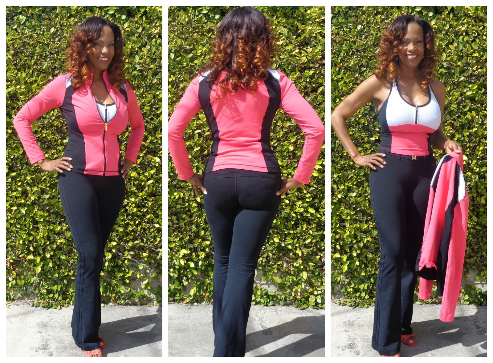 Jacket, Pants, Tank - BeBe Sports Fitness Wear