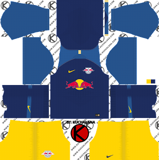 and the package includes complete with home kits Baru!!! RB Leipzig 2018/19 Kit - Dream League Soccer Kits