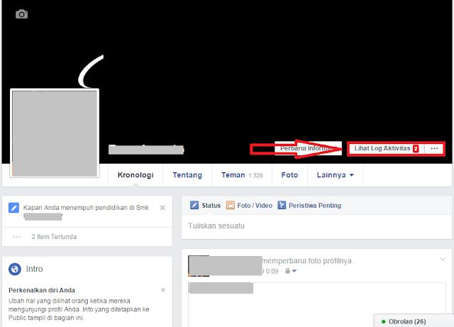 cara menghapus riwayat pencarian di facebook