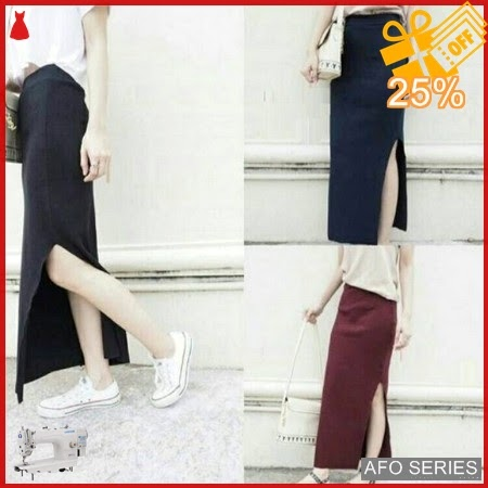 AFO385 Model Fashion Ribskirt Modis Murah BMGShop
