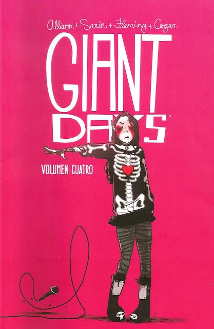 """Reseña de """"Giant Days"""" vol.4 de John Allison, Max Saring y Whitney Cogar - Fandogamia"""